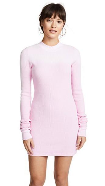 Cotton Citizen dress mini dress mini long light pink light pink