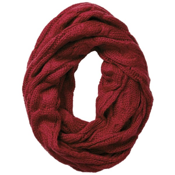 Spun by Subtle Luxury Infinity Chunky Sweater Knit Scarf - Polyvore