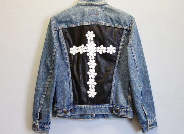 Daisy Denim Jacket                           | Spikes and Seams