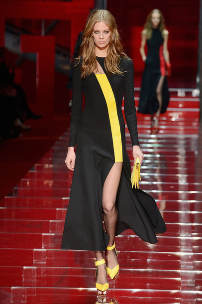 dress maxi dress fashion fashion week 2015