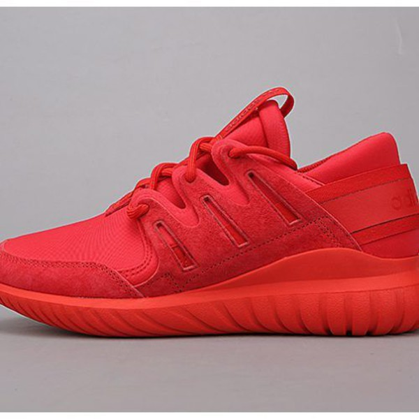 adidas red shoes. shoes: adidas, sneakers, adidas shoes, nova, tubular nova red, red sneakers - wheretoget shoes