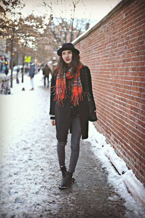 color me nana coat scarf shoes hat
