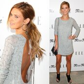 dress,pretty back,audrina patridge,the hills,low cut dress,cut-out dress,the city