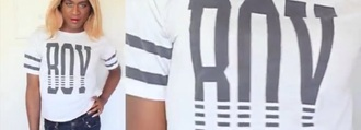 top cndirect boy gray white t-shirt