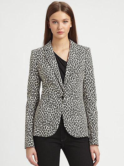 Rachel Zoe - Charlie Snow Leopard Jacket - Saks.com