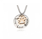 jewels,necklace,girl,girly,love,hot,cat paw print,words print,love quotes,funny,funny logo,lovely,holiday gift,gift ideas,bff gift
