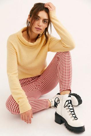 Cozy Cashmere Turtleneck Sweater