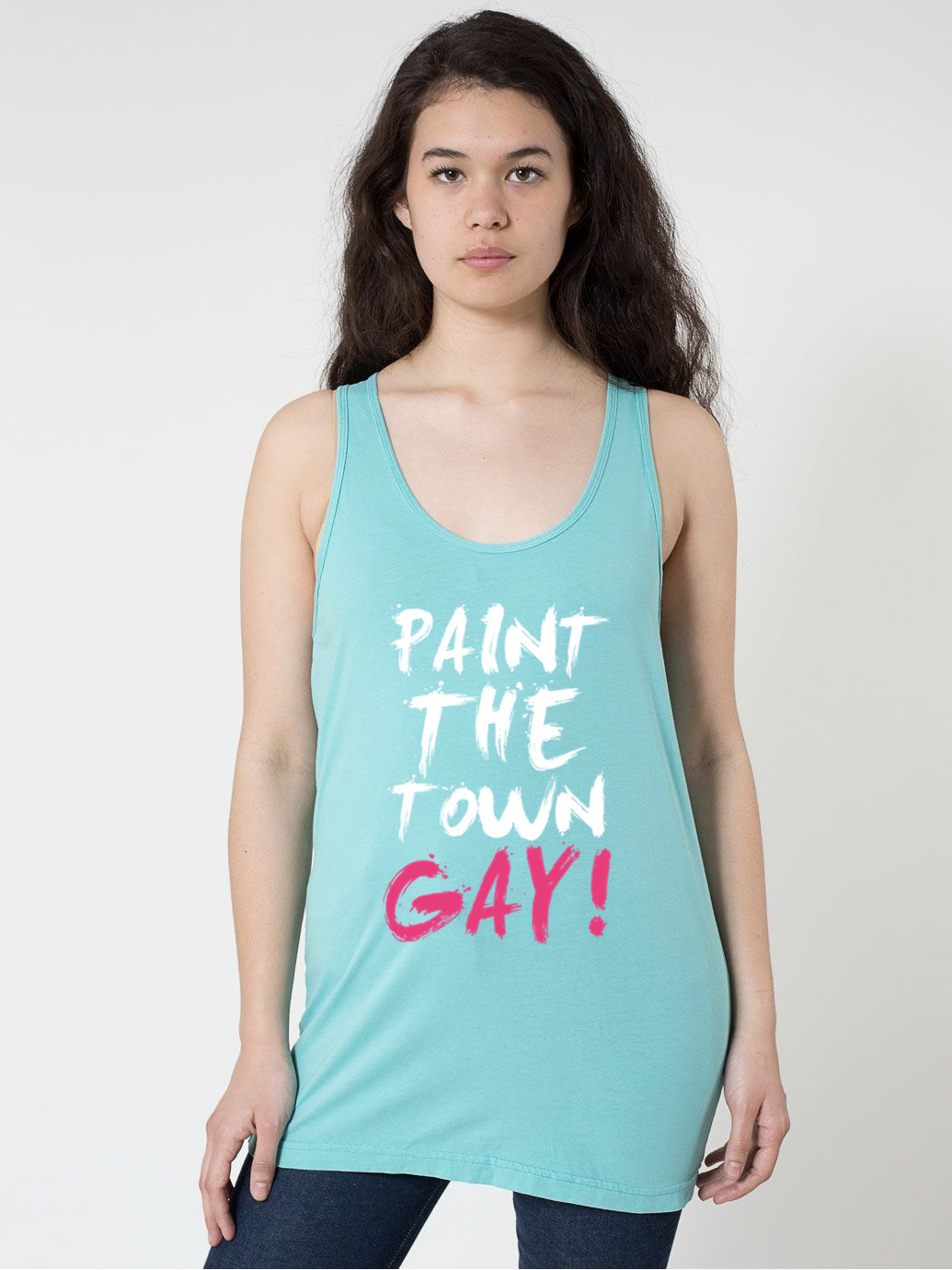 PAINT THE TOWN GAY! TANK - BOBO ACADEMY