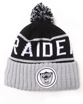 Buy Oakland Raiders NFL Current Vintage Block Cuffed Pom Knit Hat Men's Hats from Mitchell & Ness. Find Mitchell & Ness fashions & more at DrJays.com