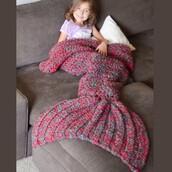 home accessory,mermaid blanket,children mermaid blanket,mermaid