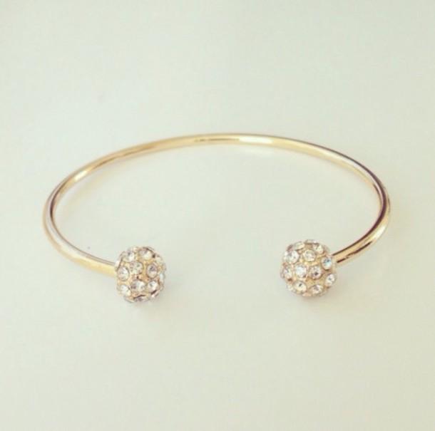 jewels bracelets diamonds open end bracelet