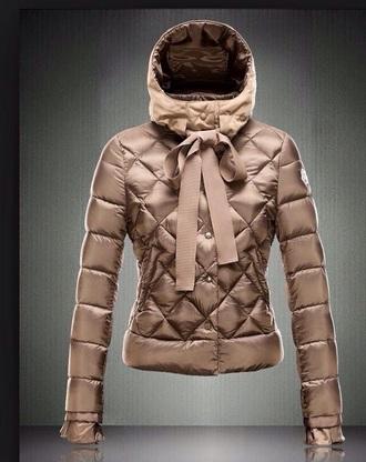 coat down jacket moncler metallic