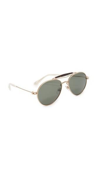 matte arrow sunglasses aviator sunglasses gold green grey