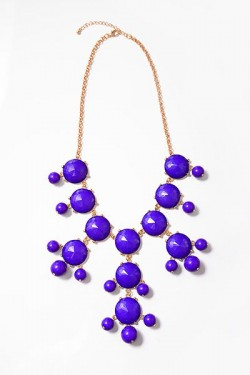 Purple Passion Statement Necklace