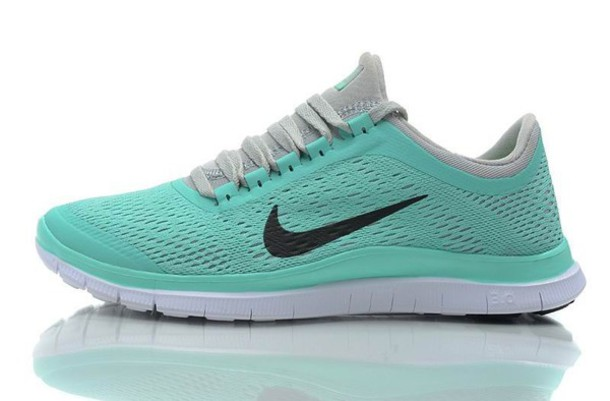 nike free run 5.0 mint / tropical damenschuhe