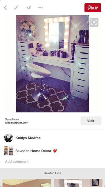 white vanity lights beauty organizer makeup table