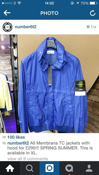 coat stone island casual