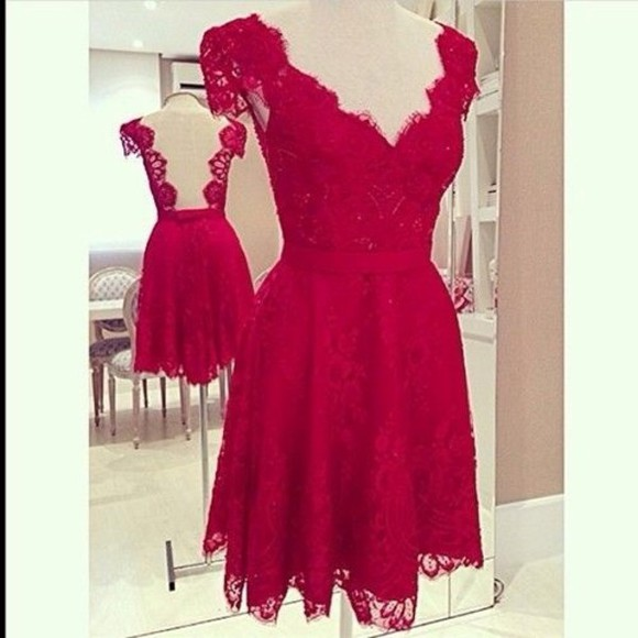 dress red red dress cute prom prom dress skater skater dress short dress short prom dress red prom dress short skater dress pretty