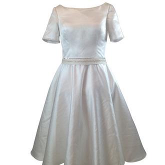 dress bridal gown tea length dress weddings bridal vintage wedding dress wedding dress