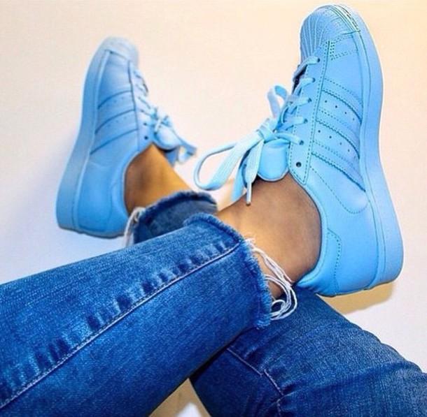 Superstar Half Blue Adidas