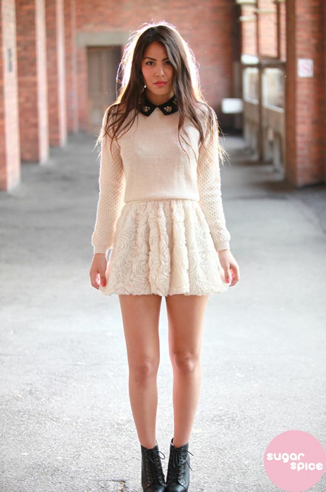 3D flower Skirt