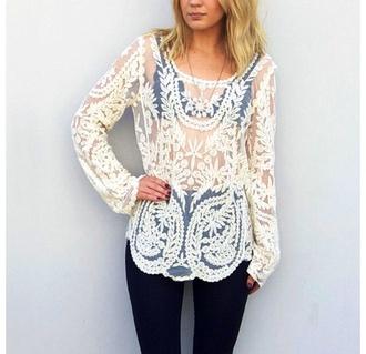 shirt crochet top