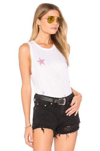 mini stars white top