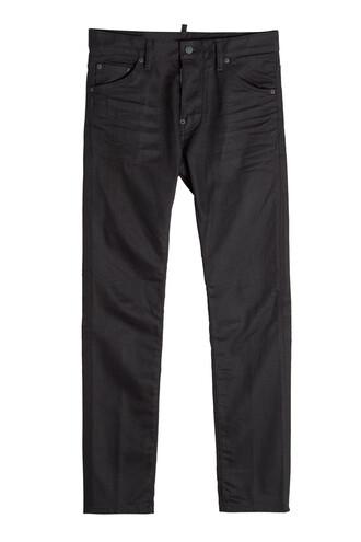 pants cotton black