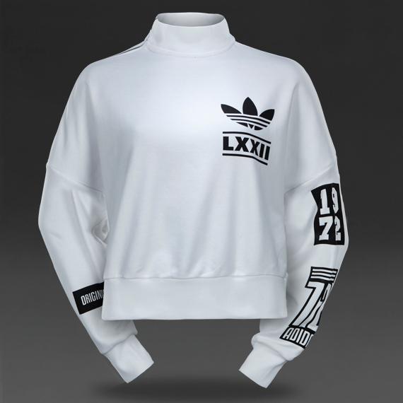 jimasy i clothing adidas originals womens berlin sweater white,Womens Clothing Adidas