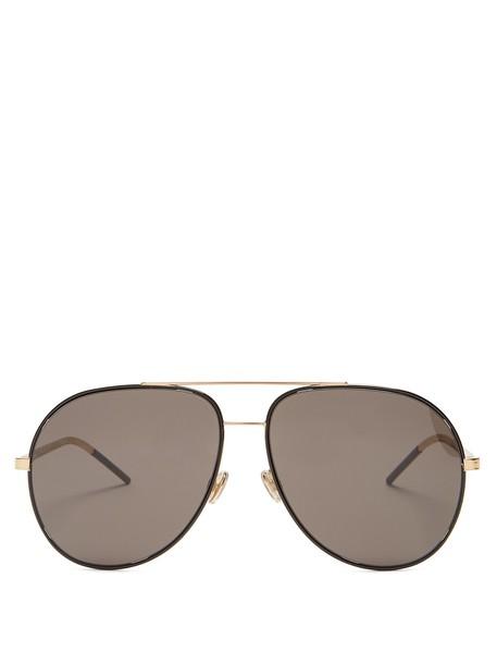 dior sunglasses aviator sunglasses black