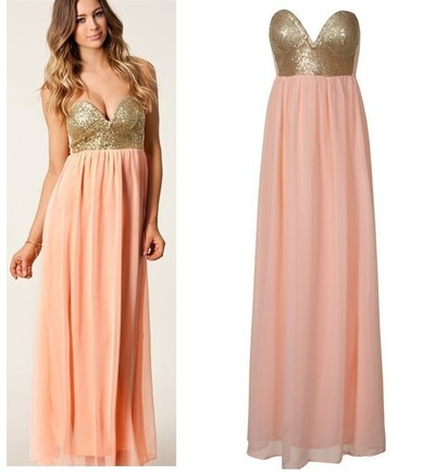 PLEATED MAXI SEQUIN BUSTIER DRESS · Humbly Glam · Online Store Powered by Storenvy