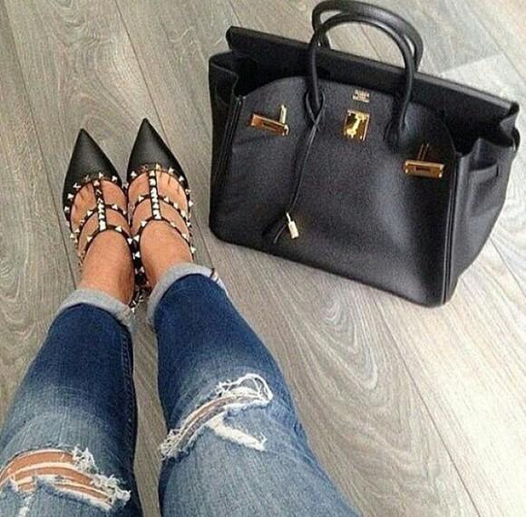 bag leather bag purse handbag