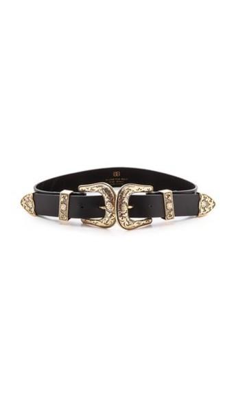 B-Low The Belt Bri Bri Belt - Black/Gold