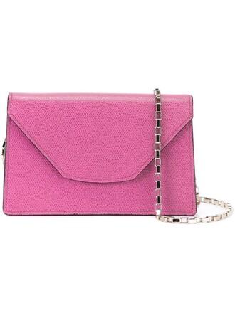 mini women bag crossbody bag purple pink