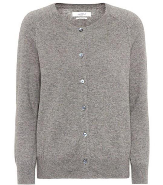 Isabel Marant, Étoile cardigan cardigan cotton silk grey sweater