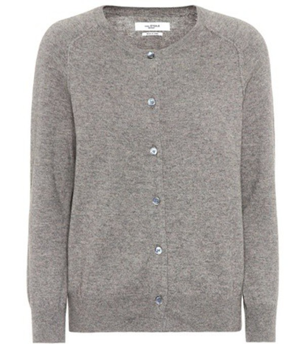 Isabel Marant, Étoile Napoli cotton and silk cardigan in grey