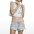 Shakuhachi 'Crystallized Cut Off Shorts' | Miishu Fashion Boutique Online | Port Melbourne