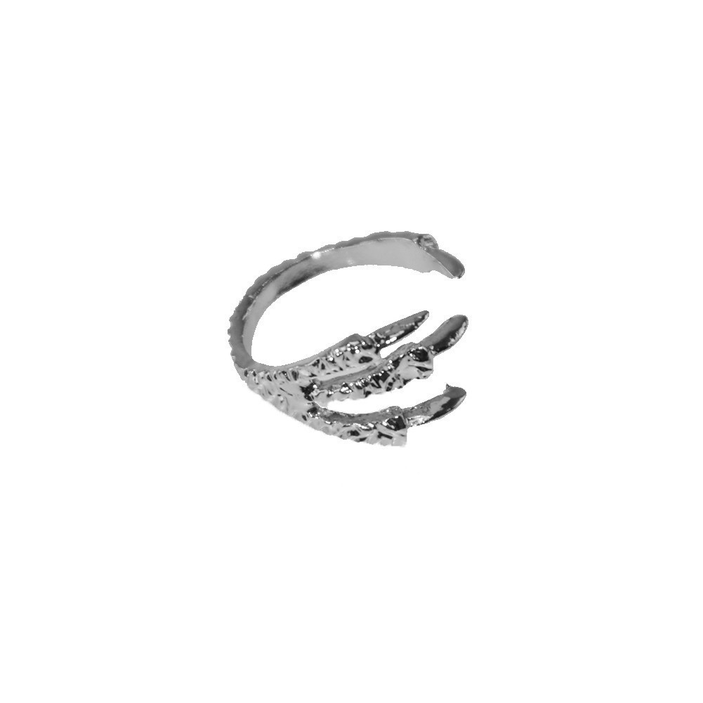 SILVER CLAW MIDI RING / back order – HolyPink