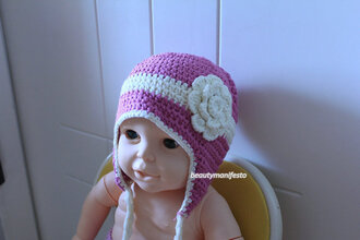 girly rose floral girl cream kids fashion guys boy/girl fall outfits crochet baby clothing flower hat stripes child baby shower gift girls generation