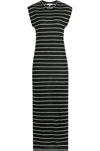dress midi dress midi stripes