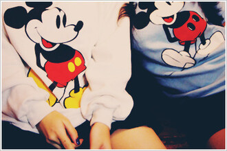 sweater mickey mouse cute