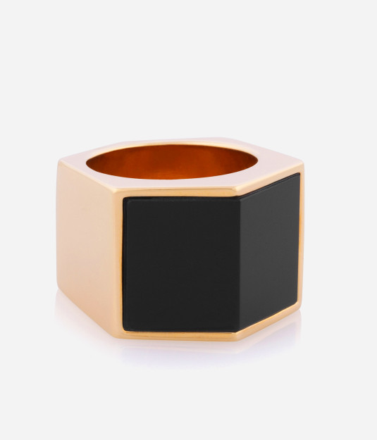 Luxe Semi-Precious Bold Ring | Products | Henri Bendel