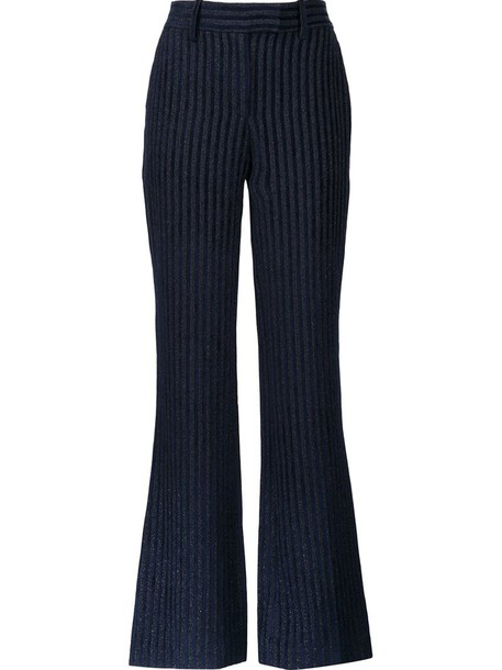 Peter Pilotto women black velvet pants