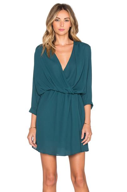 Heartloom dress green