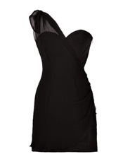 Exclusive matisse ruched shoulder dress by olivia rubin