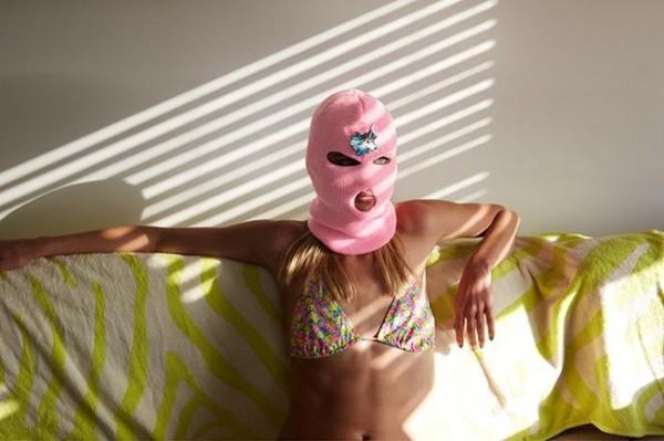 hat pink beanie unicorn