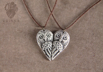 jewels owls owl pair gift ideas couples jewelry heart