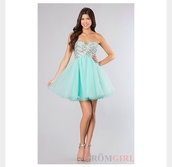 dress,brightblue,light blue,mint,homecoming,sparkle,short,sequins,prom dress,studded,beaded,formal,sweet,style,stylish,any colour #dress #openback #pretty #formal
