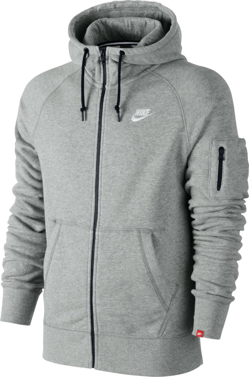 nike herren jacke aw77 fleece hoody sport freizeit. Black Bedroom Furniture Sets. Home Design Ideas