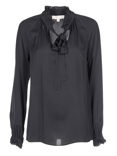 MICHAEL Michael Kors blouse classic black top
